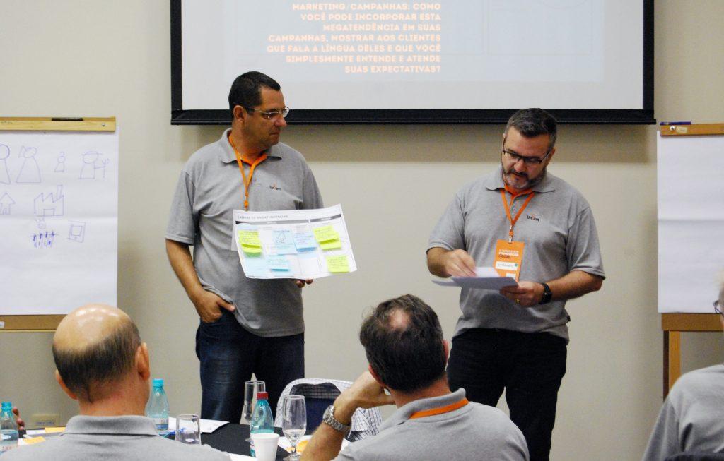 Ao final do Workshop foram apresentadas diversas ideias que podem ser aplicadas no futuro da Intercooperação.